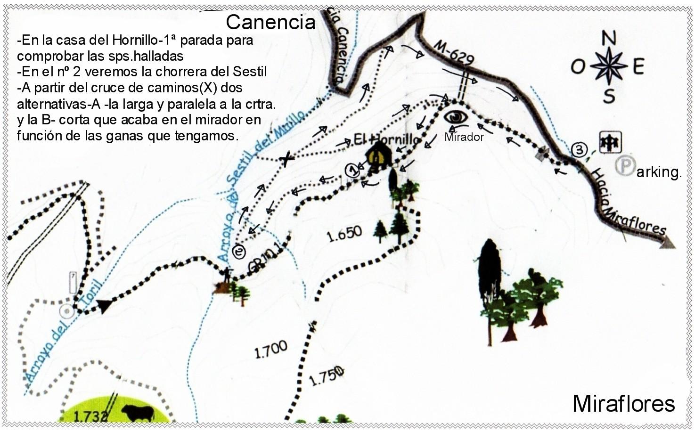 Mapa - Mapa de la casa de campo ...